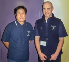 Me with Mr Kimura