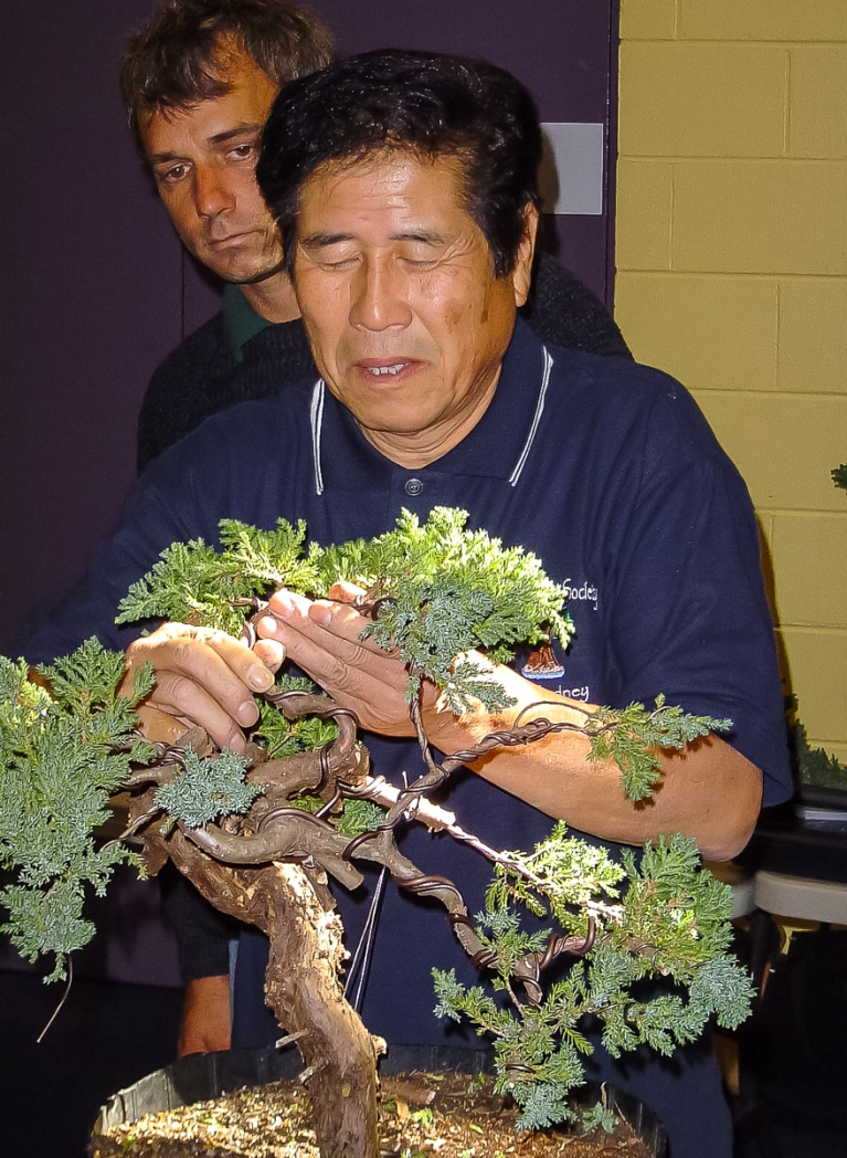 Mr Kimura demonstration 2005 AABC National Convention